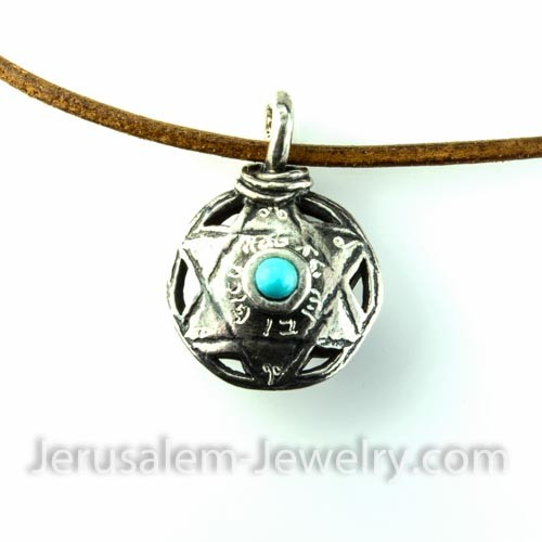 star of david necklace-140